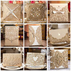 Laser Cut out Floral Design Golden Wedding Invitations Cards and Envelopes,Seals