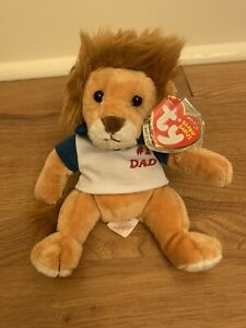 "Ty Beanie Baby #1 Dad 2006 ""My Dad"" 7 Inch Plush"
