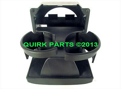 2008-2014 Subaru Impreza WRX BLACK Rear Console Cup Holder OEM NEW J201SFG000JC