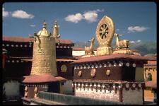 696051 Dharma Wheel On Jokhang Rooftop A4 Photo Print