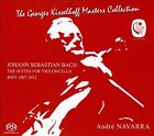 Johann Sebastian Bach: The Suites for Violoncello BWV 1007-1012 Super Audio Hybrid CD (CD, Dec-2012, 3 Discs, Phaia Music)
