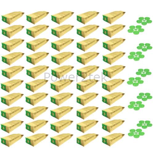 50 x 5093ER sacchetti polvere per Sebo ENSIGN ASPIRAPOLVERE NUOVO