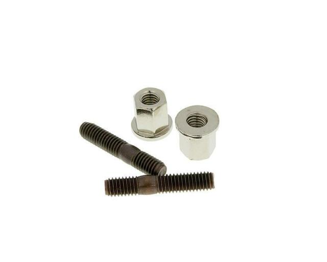 MBK Ovetto 100 M6 x M6 Exhaust Studs and Nuts