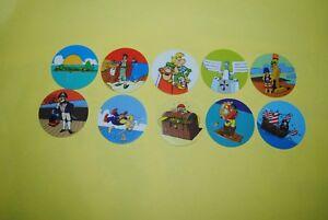 Le Prix Le Moins Cher 052 Pogs Pog Caps Milkcaps Flippo : Lot De 10 Skippies