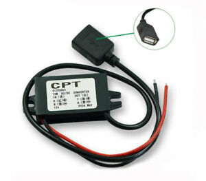 Dual-USB-Car-Power-Converter-Phone-Charging-12V-to-5V-3A-DC-DC-Step-down-Module