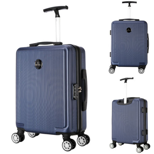 Valise de voyage bagages à main Coquille 4 rôles M cabines Trolley Board bagages #704
