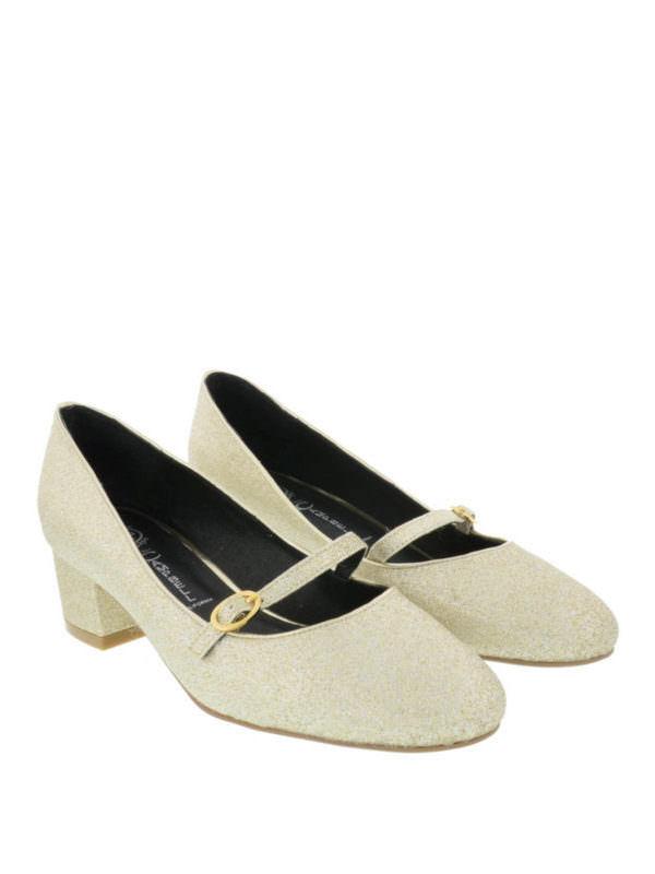 Jeffrey Campbell Twyla Tribunal Zapatos Brillo Dorado   Reino Unido 7.5 UE 40 LN40 46