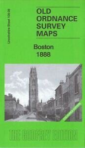 OLD ORDNANCE SURVEY MAP BOSTON 1904 LIQUORPOND STREET TOWER ROAD WIDE BARGATE