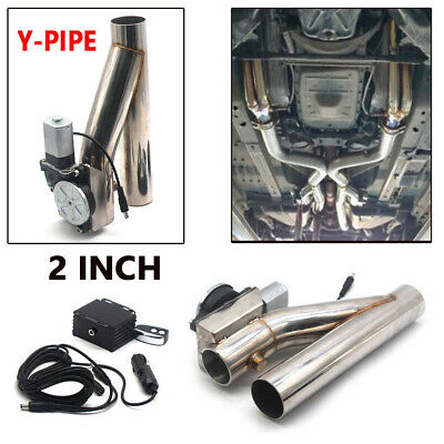M-Egal 3 Stainless Steel Car Electric Exhaust Cutout Valves Electric Exhaust Catback Downpipe System Motor