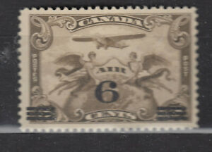 1932 #C3 6¢ ON 5¢ SURCHARGE KING GEORGE V AIR MAIL ISSUES F-VFNH
