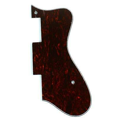 (F38) Epiphone Dot Style Guitar Pick Guard,4 ply Tortoise Dark
