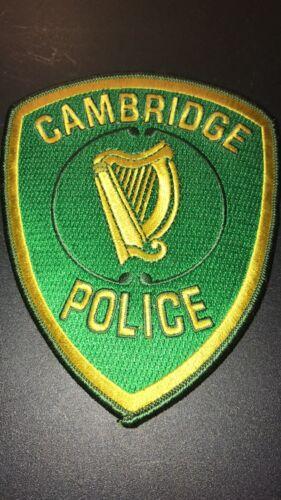 Cambridge Police Irish Patch