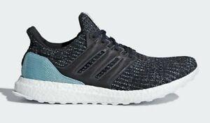 fb741cc27ea65 Adidas Men s Ultraboost Parley NEW AUTHENTIC Carbon Carbon Blue ...