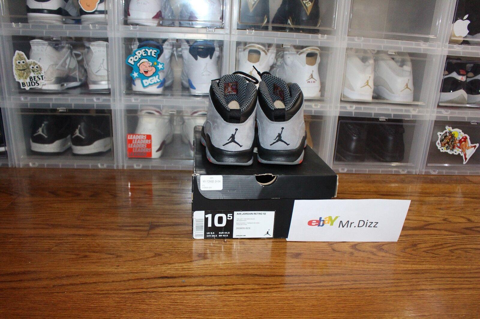 Jordan Jordan Jordan 10 Cool Grey VNDS Sz. 10.5 004f31