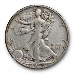 1919-S-50c-Walking-Liberty-Half-Dollar-NGC-VF-35-Very-Fine-to-Extra-Fine-Bett