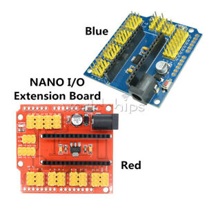 New Nano IO Shiled Expansion Board compatible with Arduino Nano V3