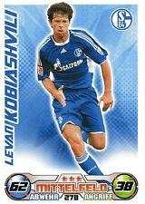 278 Levan Kobiashvili - FC Schalke 04 - TOPPS Match Attax 2009/2010