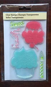 Cupcakes-Clear-Cling-Stamp-Set-New-Sweet-celebrate-birthday-themes