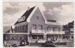 CPSM-76860-QUIBERVILLE-SUR-MER-Hotel-l-Huitriere-voitures-Edt-COMBIER