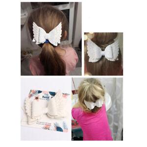 hair bows ribbon girl accessories head clips royal blue red