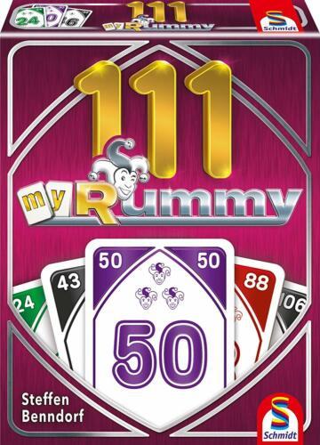 Jeu de cartes My rummy 111