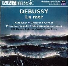 DEBUSSY - LA MER + KING LEAR, CHILDREN's CORNER SUITE, 1ere RAPSODIE etc / OTAKA