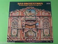 Das Orchestrion - Straßenorgeln spielen Evergreens# - Decca LP
