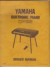 Yamaha CP25 Electronic Piano Original Service Manual