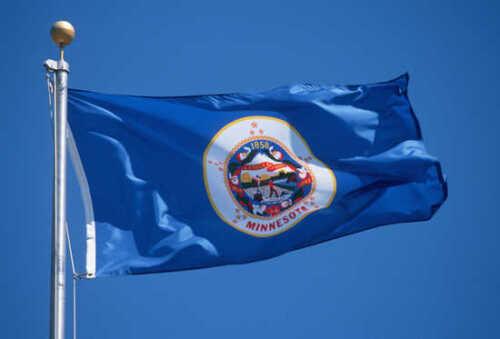 NEW MINNESOTA 3x5ft FLAG superior quality fade resist us seller