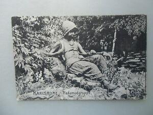 Ansichtskarte Karlsruhe Hadumodgruppe 1911 (Nr.624) - Eggenstein-Leopoldshafen, Deutschland - Ansichtskarte Karlsruhe Hadumodgruppe 1911 (Nr.624) - Eggenstein-Leopoldshafen, Deutschland