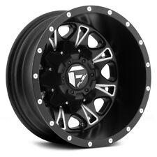 17 Inch Black Wheels Rims Ford Dually Truck F350 Superduty 8x200 Fuel D513 Set 4