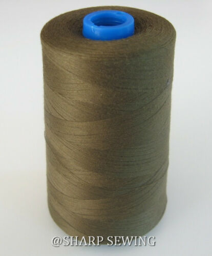 1 SPOOL  SOFT CANTEEN #C8982 100/% POLYESTER SERGER QUILTING THREAD T40 6000 YDS