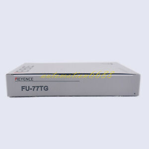 KEYENCE-fiber-optic-sensor-stainless-steel-hose-M4-on-beam-amplifier-FU-77TG-new