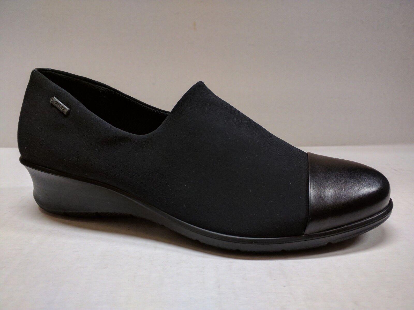 ECCO WOMEN'S FELICIA WATERPROOF GORE-TEX WEDGE SLIP-ON SHOE