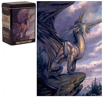 Silver Dragon Todd Lockwood Capsule Deck Box Rook GAMING SUPPLY BRAND NEW