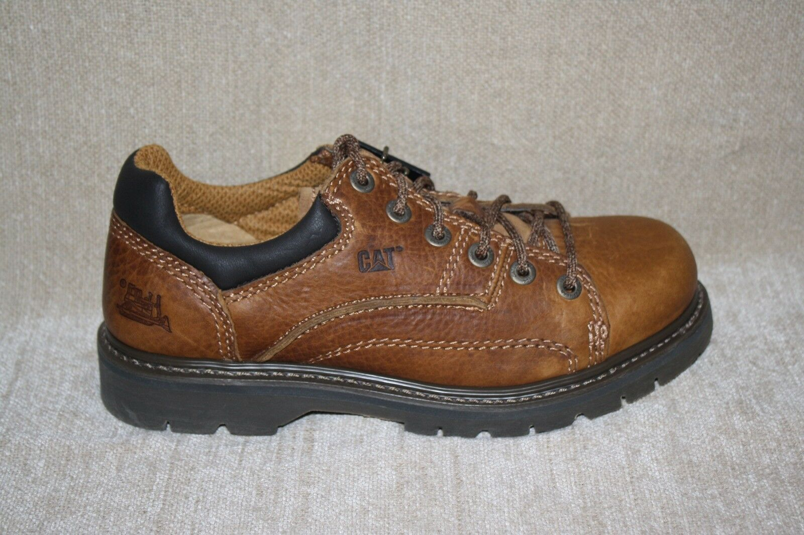 Damenschuhe CATERPILLAR LEATHER WORK OXFORDS SLIP&OIL RESISTANT-SEE SIZES (411)