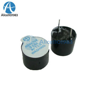 5PCS-5V-Active-Buzzer-Magnetic-Long-Continous-Beep-Tone-Alarm-Ringer-12MM