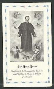 image pieuse ancianne de San Juan Bosco santino holy card estampa 4I0gf8IX-09102914-505903687
