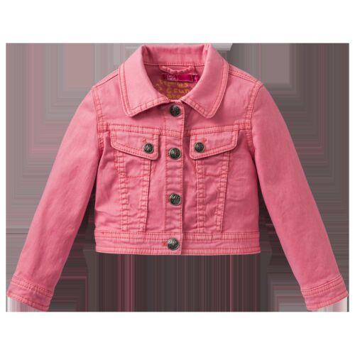 Cakewalk schöne Mädchen Jeans Jacke  Rosa oder Neon Grün Sommer Mädchenjacke