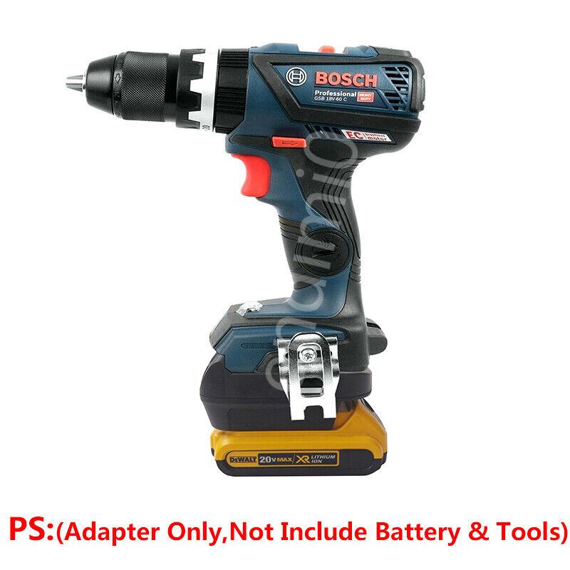 bosch 18v power tools adapter work