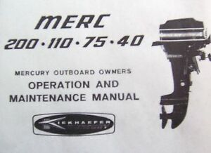 mercury merc outboard owners manual 1980 s 4 to 20 hp ebay mercury outboard owners manual online mercury outboard owners manual pdf
