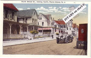 Image Is Loading C 1916 PENNS GROVE NJ SOUTH BROAD STREET
