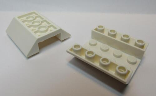 Inverted 45 4 x 4 Double WHITE 4854 LEGO Parts~2 Slope