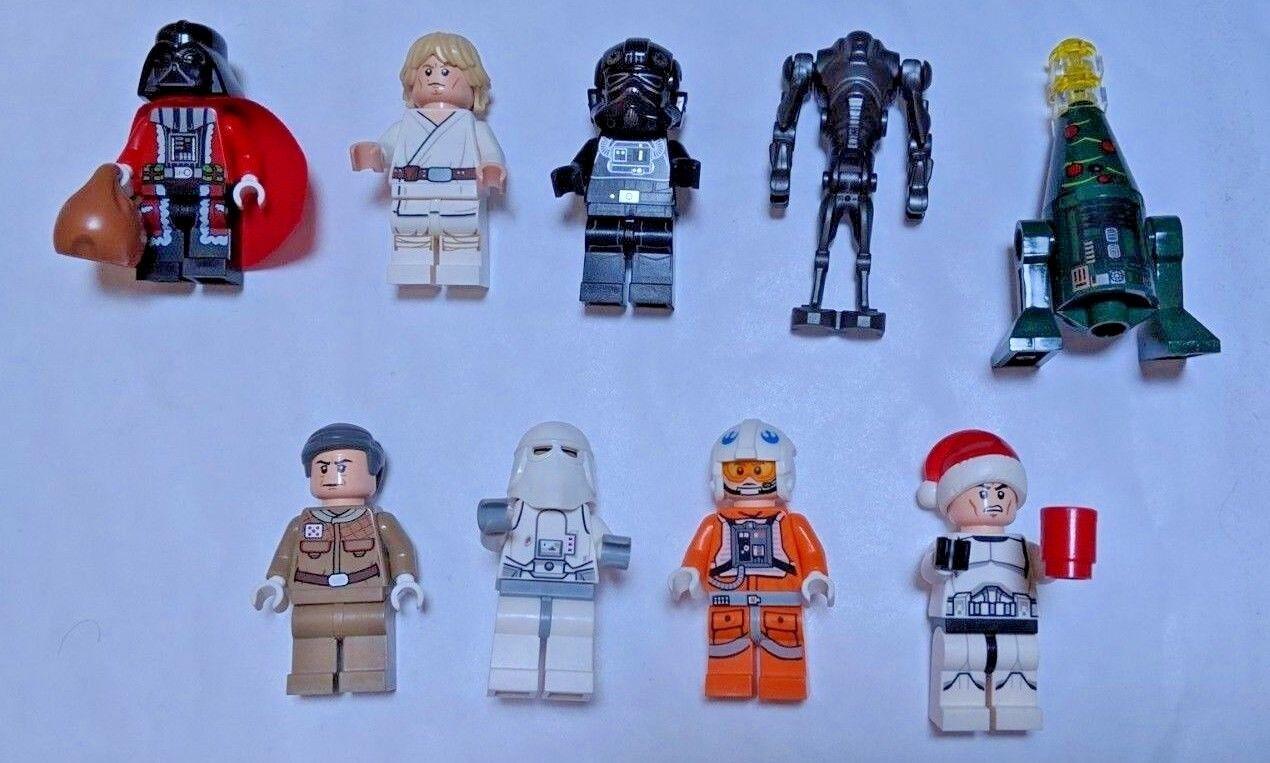 Lego Star Star Star Wars Santa Darth Vader + 2014 ADVENT CALENDAR 75056 complet-RARE! fb5f73