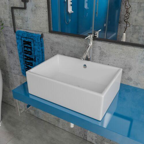 Aufsatzwaschbecken Waschtisch Aufsatzwaschschale Waschschale Keramik KBW99