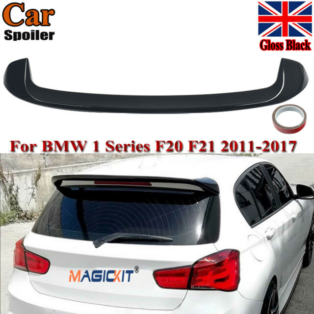 For BMW F20 F21 1 Series Gloss Black AC Style Rear Roof Trunk Lip Spoiler UK