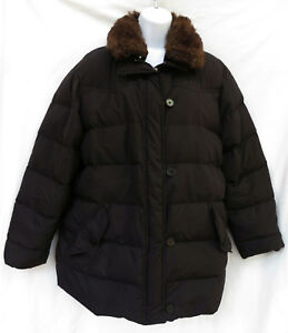 243e025d9b9 Details about RALPH LAUREN Womens Down Quilted Removable Faux Fur Collar  Jacket Parka Coat 1X