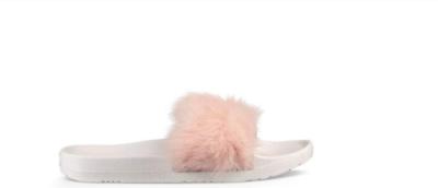 UGG Women's Royale Baby Pink Fluffy Fur