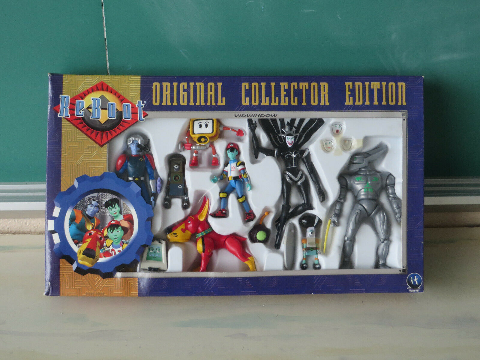 Irwin Toys ReStiefel Original Collector Edition Bob Frisket Binomes Megabyte SEALED