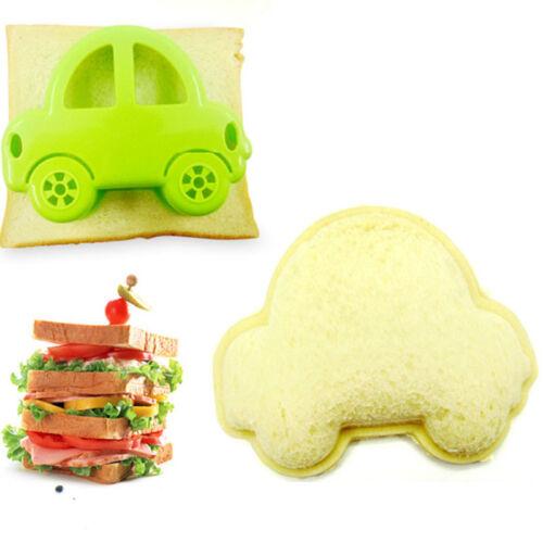 Car Shape Sandwich Bread Toast Cookie Cake Cutter Mold Mould Props Set